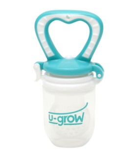 Dispozitiv din Silicon 3+ luni pentru Hranirea Bebelusilor cu Suc din Fructe Proaspete U-GROW A-1033