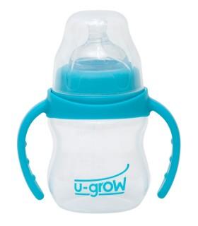 Biberon PP 3-6 luni cu Gat Larg 150 ml U-GROW A-1075