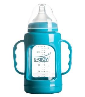 Biberon 3-6 luni din Sticla 200 ml Gat Larg