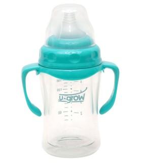 Biberon 3-6 luni din Sticla 180 ml Gat Larg