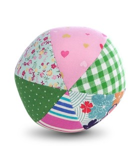 Jucarie Textila Pink Ball 10 x 10 cm