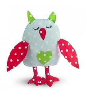 Jucarie Textila Sleepy Owl 32 x 18 cm