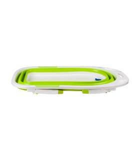 Cadita Pliabila Silicon Verde cu Dop Termosensibil